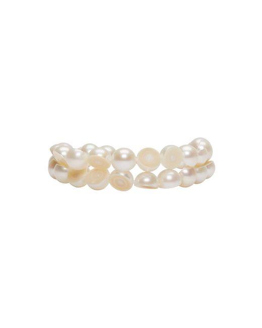 Melanie Georgacopoulos - White Sliced Pearl Tasaki Edition Bracelet - Lyst