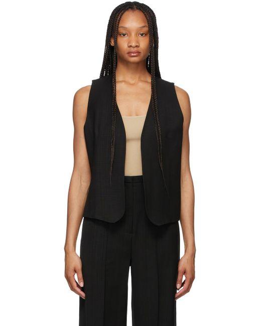Totême  ブラック Pine Suit ベスト Black