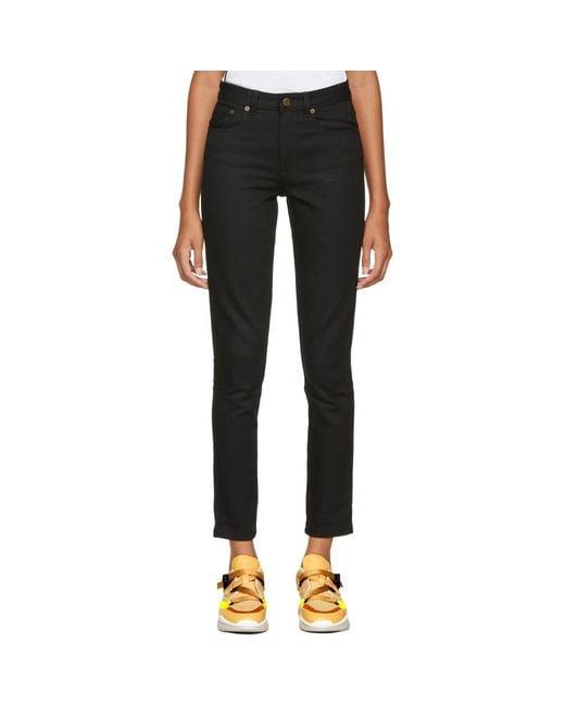 A.P.C. - Black High Standard Jeans - Lyst