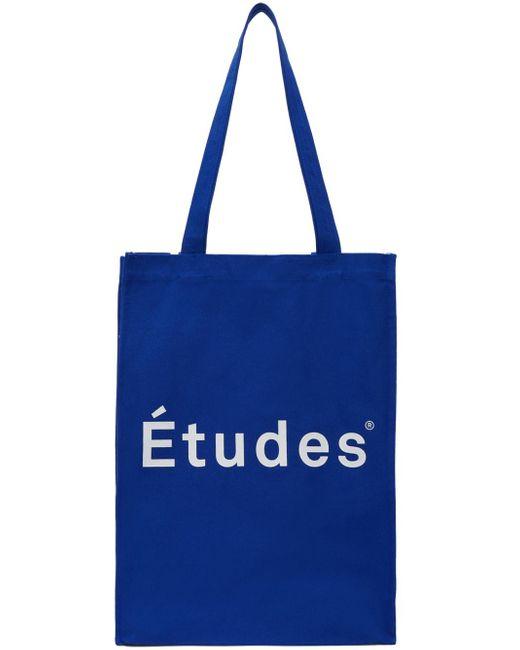 Etudes Studio ブルー November ロゴ トート Blue