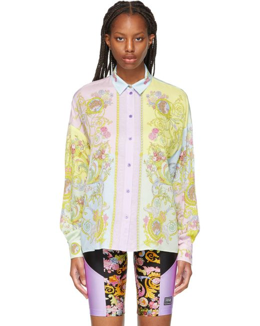 Versace Jeans マルチカラー シャツ Multicolor