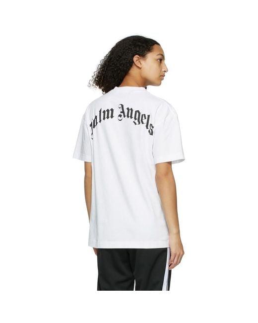 Palm Angels ホワイト Croco T シャツ White
