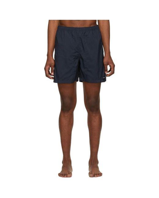 Maillot de bain en nylon bleu marine Noah NYC pour homme en coloris Blue