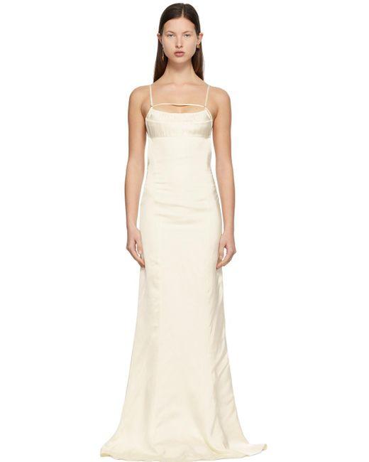 Jacquemus オフホワイト La Robe Novio ドレス White
