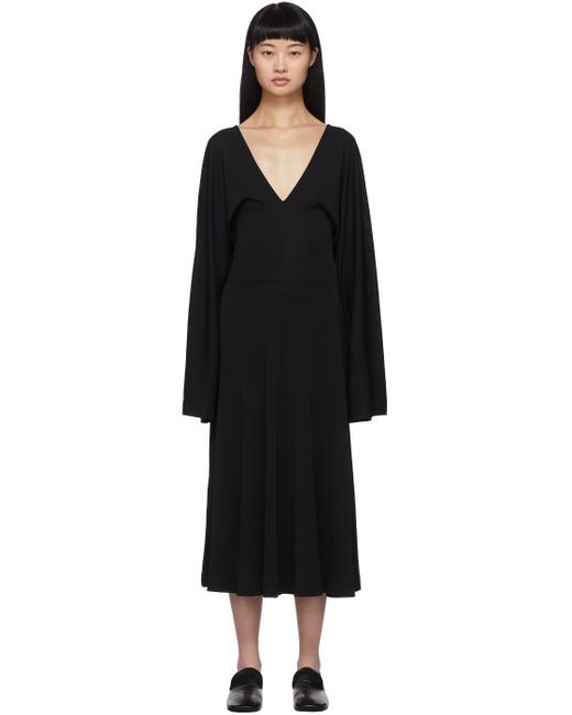 Totême  ブラック Bolbec ドレス Black
