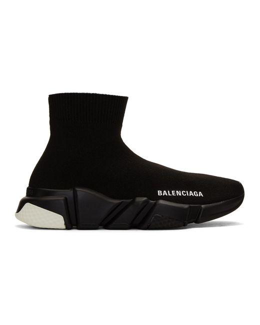 Balenciaga ブラック スピード Speed スニーカー Black
