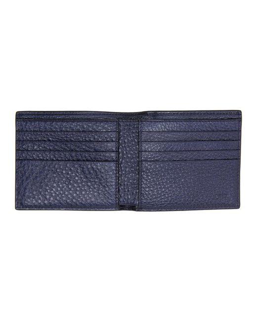71209317 Men's Blue Bag Bugs Bifold Wallet
