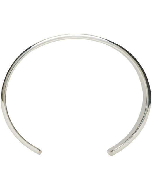 Le Gramme | Metallic Silver Polished Le 41 Grammes Cuff | Lyst
