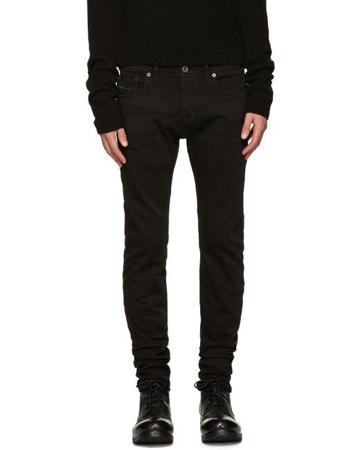 Diesel Black Gold   Black Denim Pants for Men   Lyst