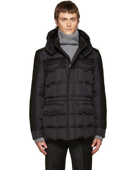 Moncler | Black Down Jacob Jacket for Men | Lyst