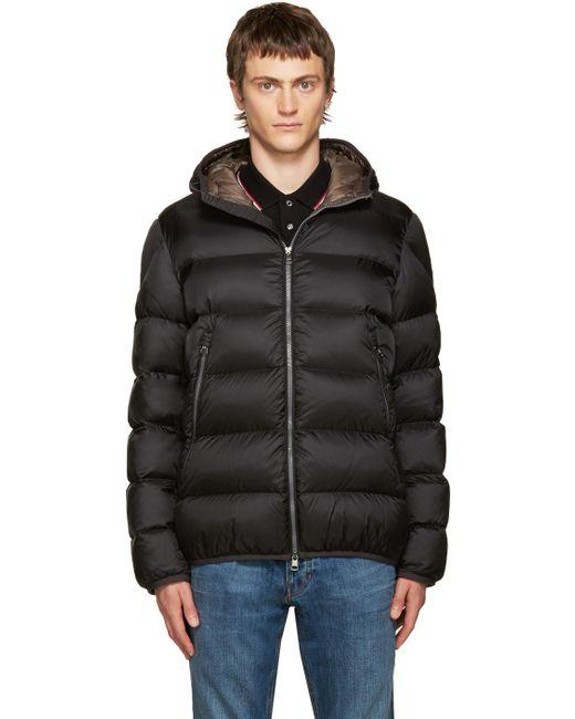 Moncler   Black Down Chauvon Jacket for Men   Lyst