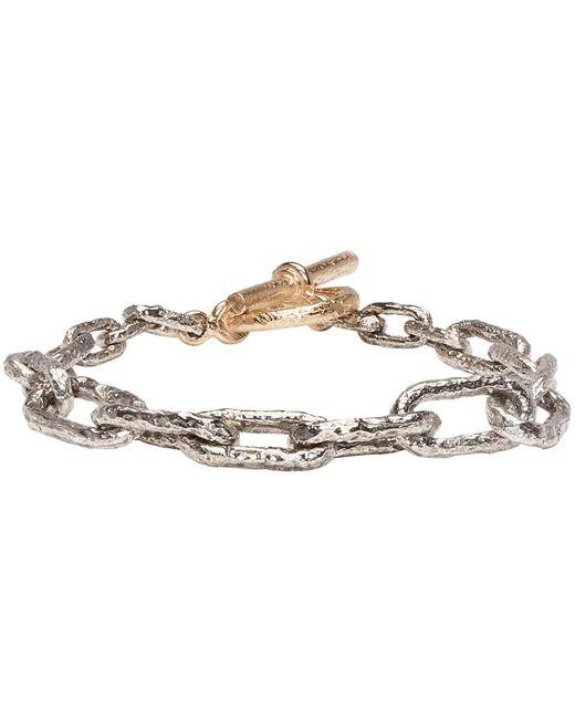 Pearls Before Swine   Metallic Silver & Gold Link Bracelet   Lyst