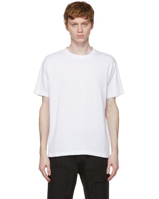 メンズ A_COLD_WALL* * ホワイト シグネチャ グラフィック T シャツ White