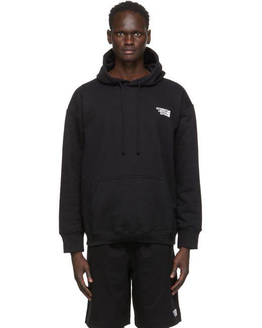メンズ Vetements ブラック Limited Edition ロゴ フーディ Black