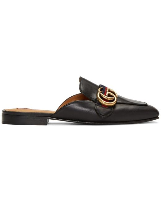 Gucci   Multicolor Peyton Slide Loafers   Lyst