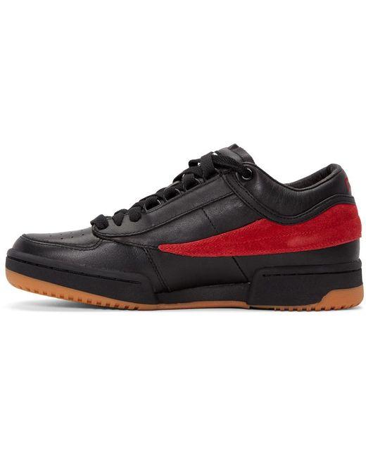 Gosha rubchinskiy X Fila T-1 Sneakers in Black for Men - Save 16% | Lyst