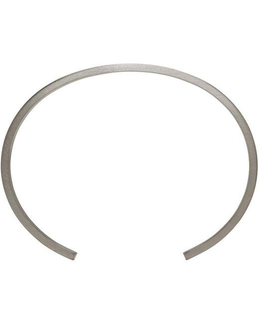 Le Gramme | Metallic Le 9 Grammes Matte Silver Horizontal Guilloche Cuff | Lyst