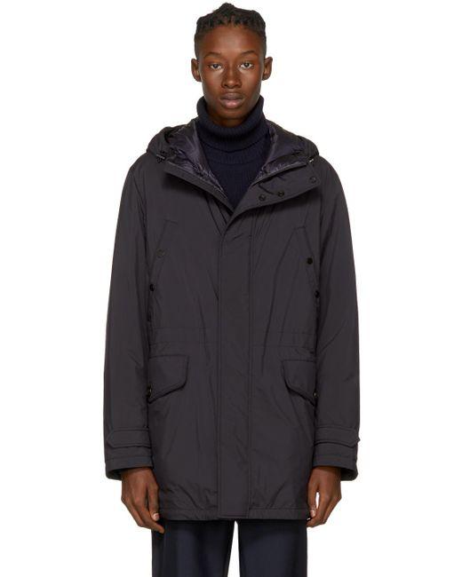 Moncler | Blue Navy Down Bresle Jacket for Men | Lyst