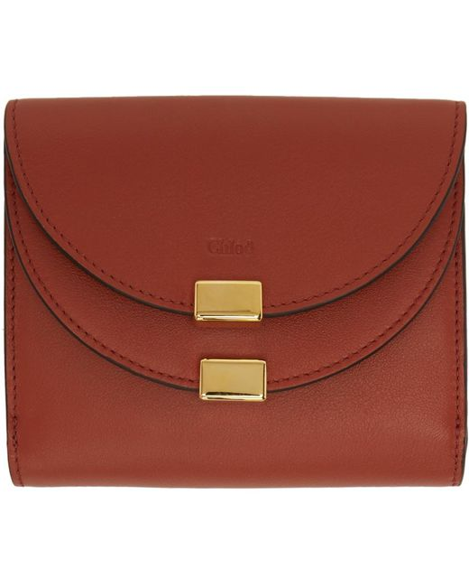 Chloé | Red Square Georgia Wallet | Lyst