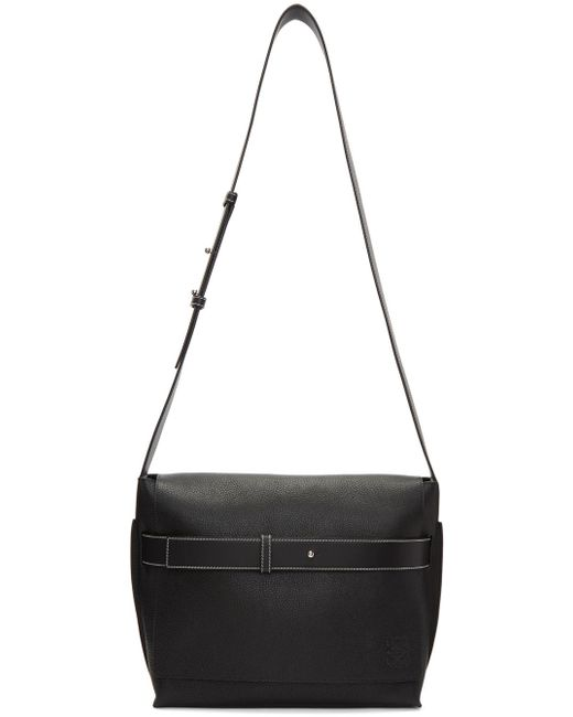 Loewe | Black Small Bolso Belt Messenger Bag for Men | Lyst