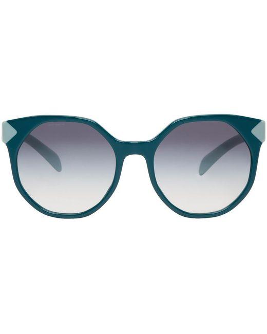 Prada | Green Octagonal Sunglasses | Lyst