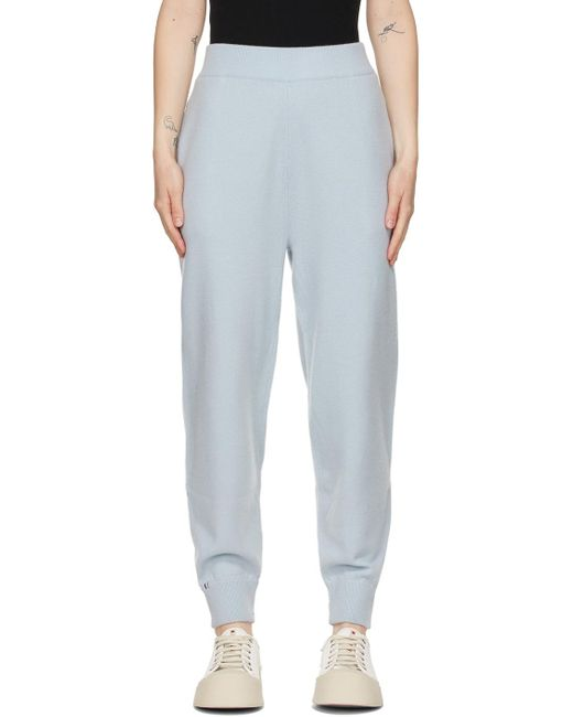 Extreme Cashmere ブルー N°56 Yogi ラウンジ パンツ Blue