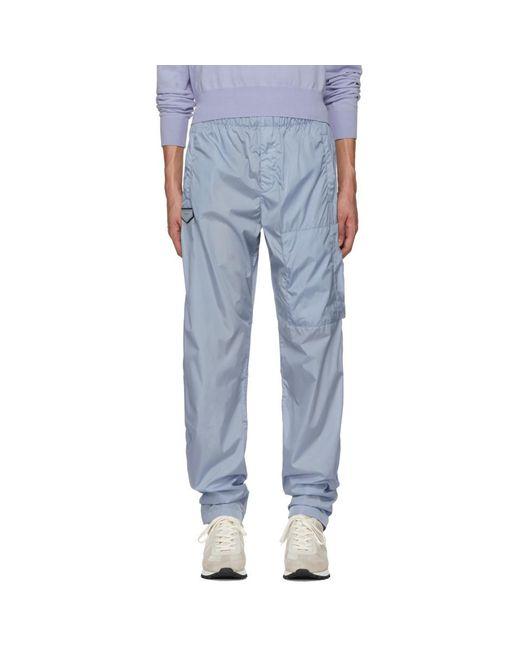 Givenchy - Blue Nylon Jogging Lounge Pants for Men - Lyst