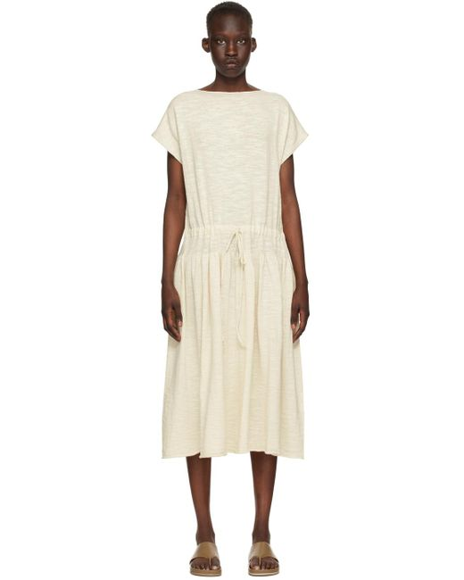 Lauren Manoogian オフホワイト Low Tier ドレス White