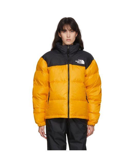 メンズ The North Face イエロー ダウン 1996 レトロ ヌプシ ジャケット Yellow
