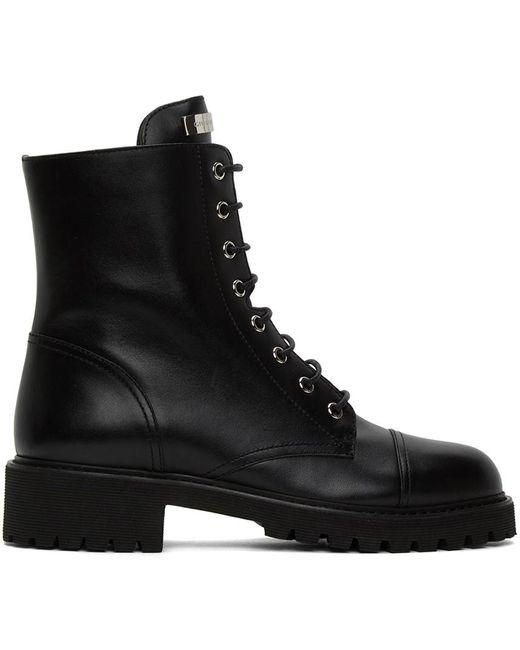 Giuseppe Zanotti ブラック Nevada ブーツ Black
