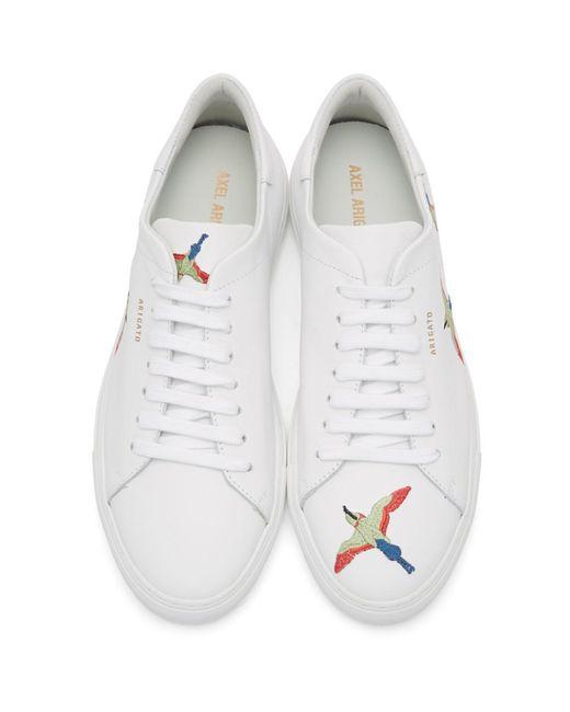 メンズ Axel Arigato ホワイト Bird Clean 90 スニーカー White
