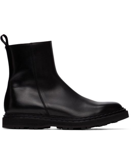 メンズ Officine Creative ブラック Lydon 6 ブーツ Black