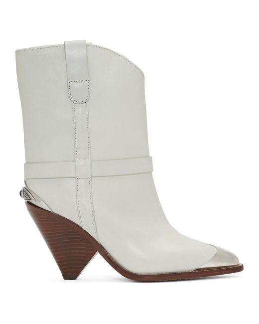 Isabel Marant オフホワイト Lamsy ブーツ White