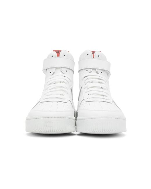 メンズ 424 Adidas Originals Edition ホワイト ハイトップ スニーカー White