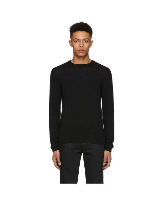 Prada - Black Cashmere Sweater for Men - Lyst