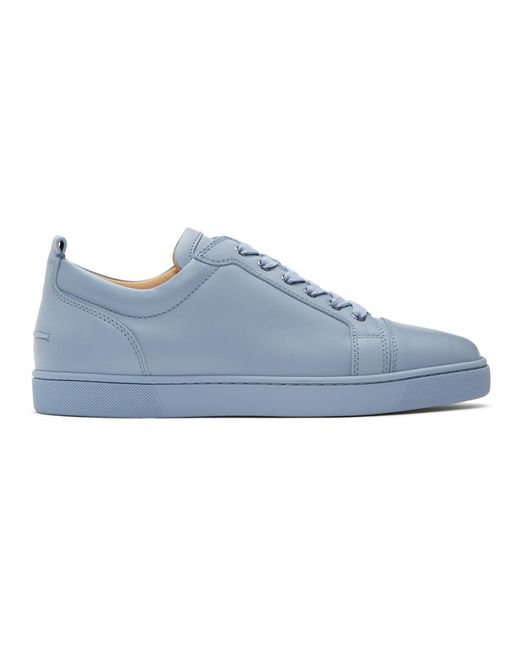 Baskets bleues Louis Junior Christian Louboutin pour homme en coloris Blue