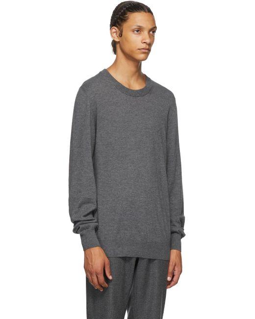 メンズ Maison Margiela グレー ウール 14 Gauge セーター Gray