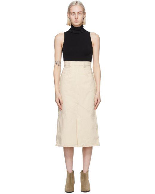 Isabel Marant オフホワイト Pomano スカート Multicolor