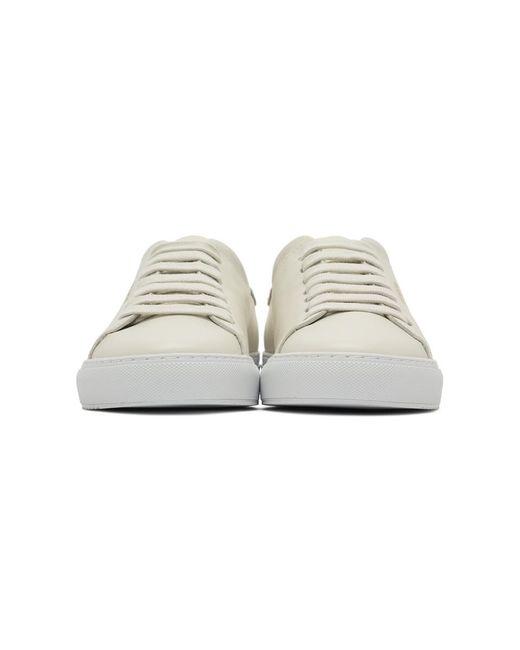 メンズ Axel Arigato オフホワイト クリーン 90 スニーカー White