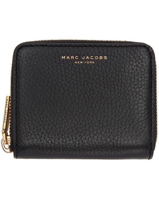 Marc Jacobs | Black Small Recruit Zip Wallet | Lyst