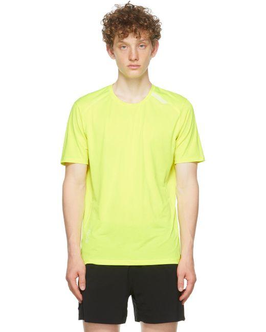 Soar Running Yellow Tech-t 2.5 T-shirt for men