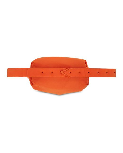 メンズ Bottega Veneta オレンジ The Body ポーチ バッグ Orange