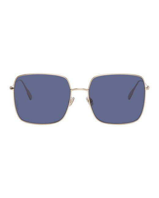 Dior ゴールド Stellaire1 サングラス Blue