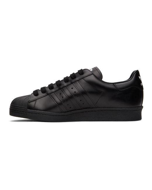 Adidas Originals Black Prada Edition Superstar Sneakers for men
