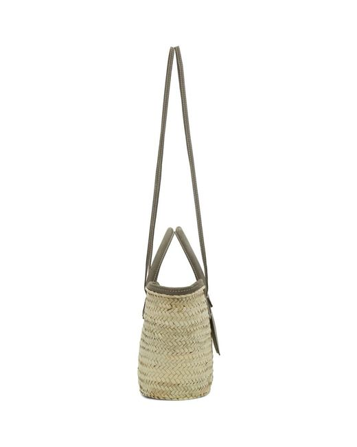 Jacquemus Gray Beige And Grey Le Panier Soleil Tote