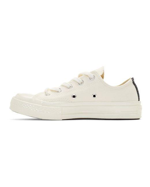 Baskets blanc casse Half Heart Chuck 70 edition Converse