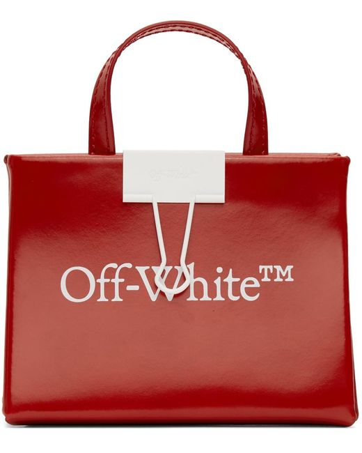 Off-White c/o Virgil Abloh レッド ベビー ボックス バッグ Red