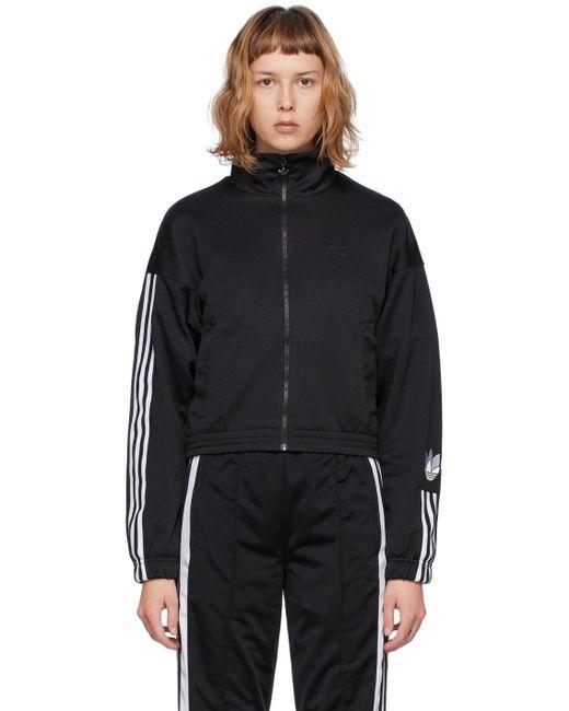 Adidas Originals ブラック Adicolor トラック ジャケット Black