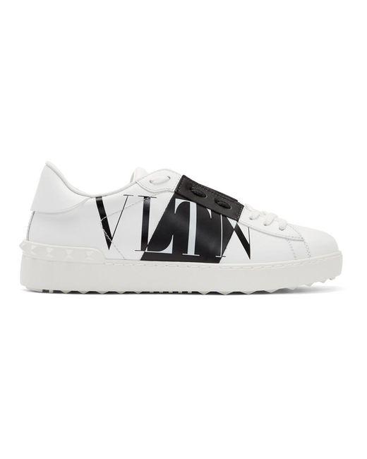 Baskets blanches Garavani VLTN Star Valentino Garavani pour homme en coloris White