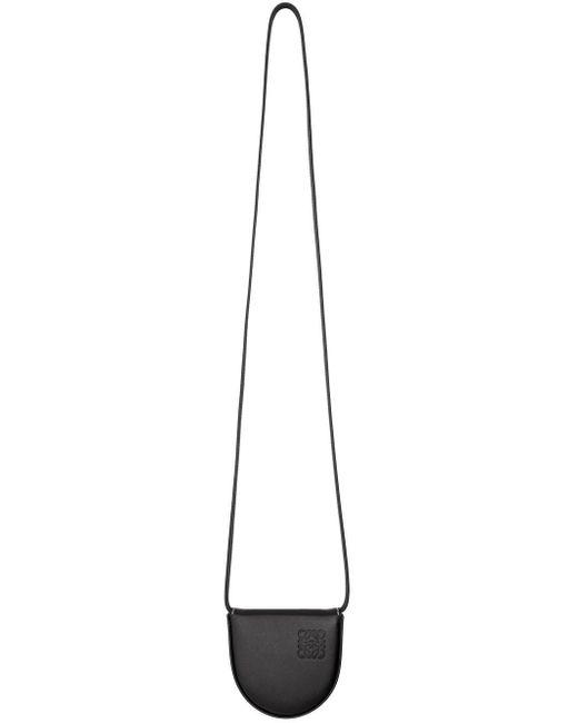 メンズ Loewe ブラック スモール ヒール ポーチ Black